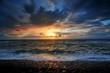 Summerstorm sunset in Petten
