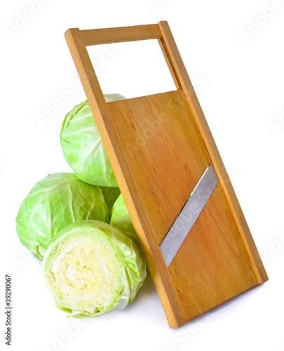 Fotografie, Obraz  Cabbage and salad slicer