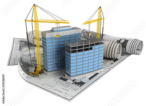 Cuadros en Lienzo building design concept