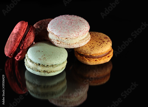 Photographie  Macarons couleur