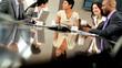 Boardroom Meeting of Multi Ethnic Business Team