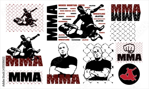 Photo  MMA T-SHIRT