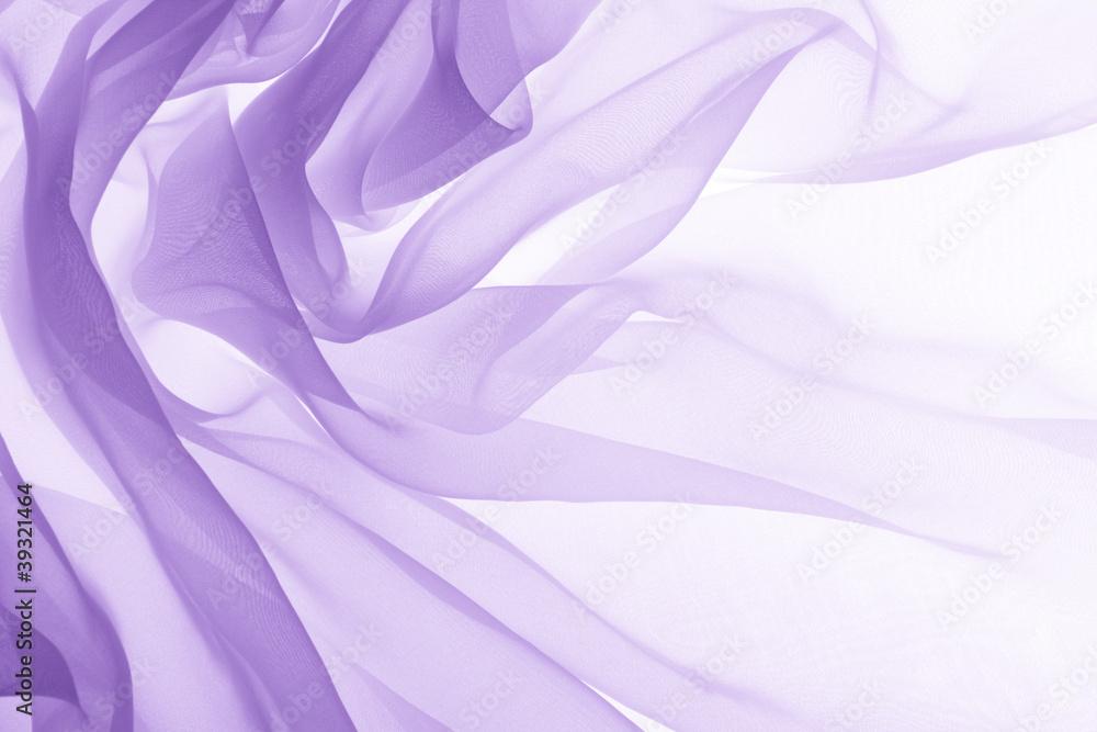 Fototapety, obrazy: soft purple chiffon texture