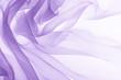 canvas print picture - soft purple chiffon texture