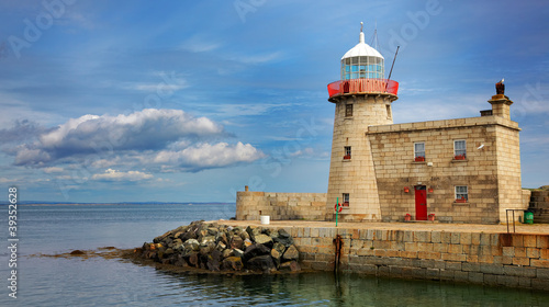 Howth Lighthouse Wallpaper Mural
