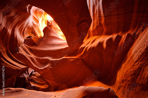 Photo Stands Canyon Antelope Canyon