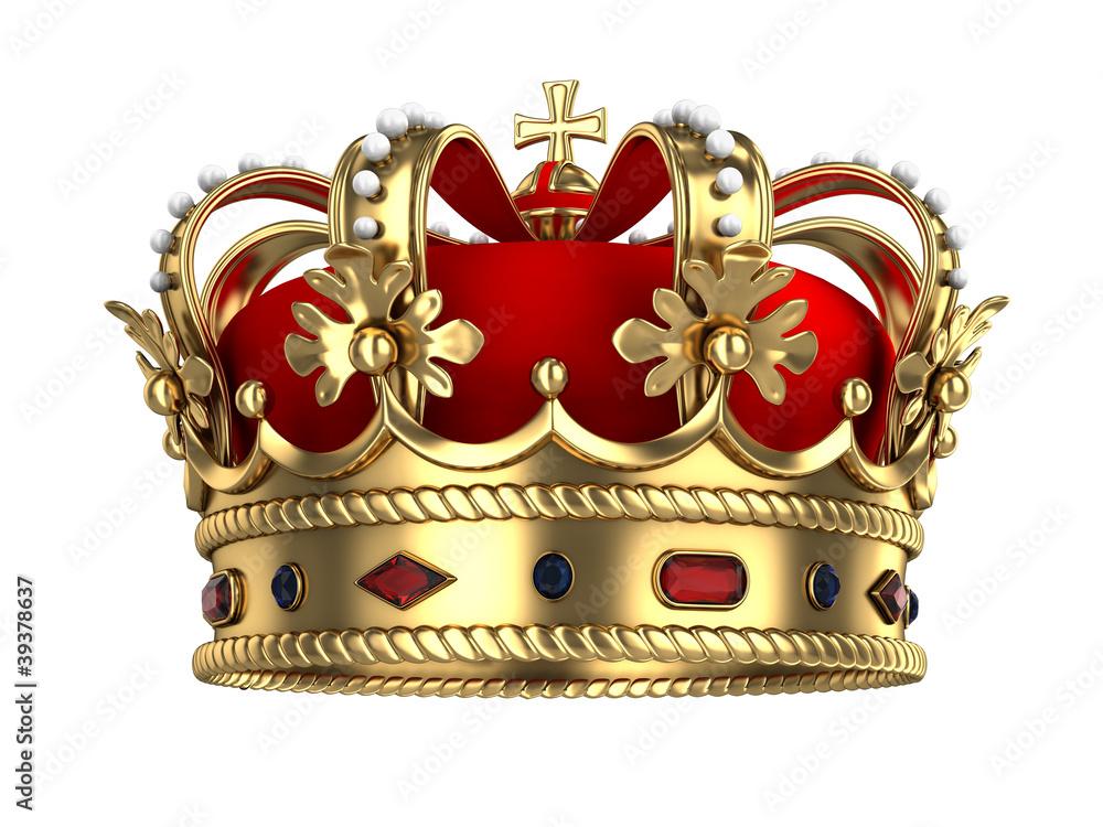 Fototapeta Royal Gold Crown