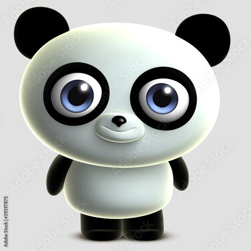 Foto op Aluminium Sweet Monsters toy panda