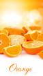 orange fruit in sun