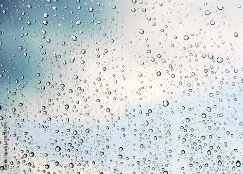 blue-rain-drops