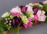 Fototapeta Kwiaty - kwiaty, kompozycja kwiatów, bukiet, dzień kobiet, spa