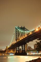 Fototapeta Nowy York Manhattan bridge