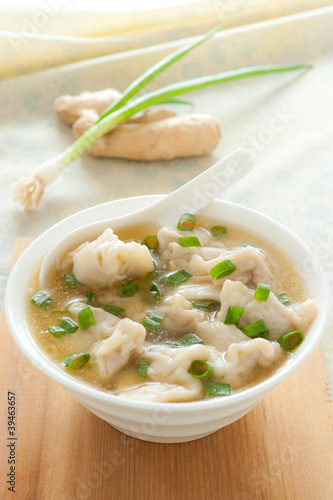 Fotografía  Asian wonton soup