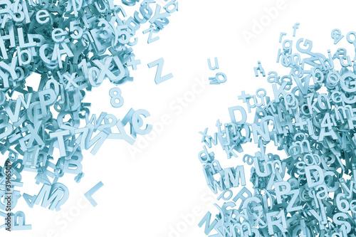 Valokuva  3D Buchstaben Aluminium