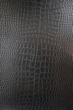 Black Crocodile Leather Texture