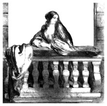 Juliet At The Balcony