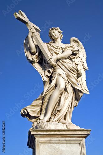 Angel designed by Bernini Canvas Print