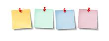 Blank Office Sticky Notes Design