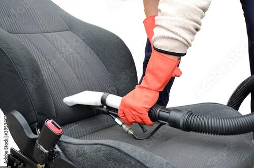 Fotografie, Obraz  Lavaggio sedile auto
