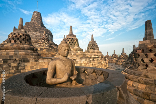 Canvas Prints Indonesia Borobudur Temple, Yogyakarta, Java, Indonesia.