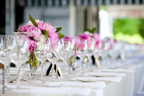 Fotografie, Obraz  Wedding table decoration series