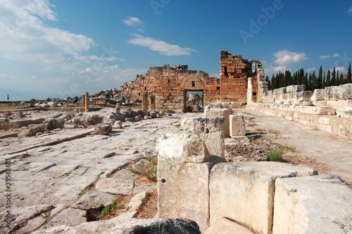 Fototapeta  Ancient Hierapolis-Pamukkale. Turkey.