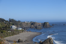 Beach Houses Algon California Coast Near Monterey