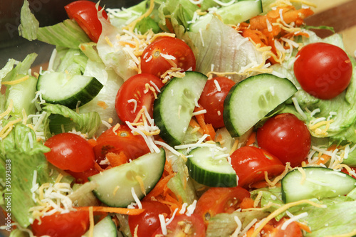 Fotografie, Obraz  closeup of salad