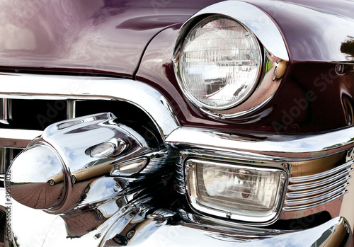 Deurstickers Oude auto s Classic old car