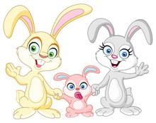 Bunnies Family