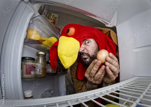 Photo  Canibal turkey