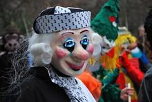 Carnival In Riehen, Switzerland