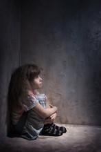 Child In A Dark Corner
