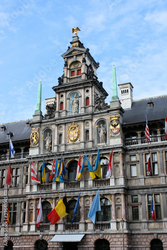 Papiers peints Antwerp Rathaus Antwerpen