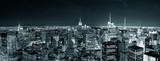 Fototapeta Nowy Jork - New York City Manhattan skyline at night
