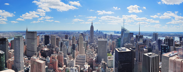 Fototapeta Nowy York New York City Manhattan panorama