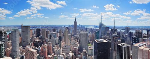 Panorama Nowego Jorku na Manhattanie