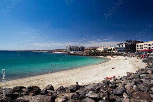 Obraz plaża w Puerto del Rosario - fototapety do salonu