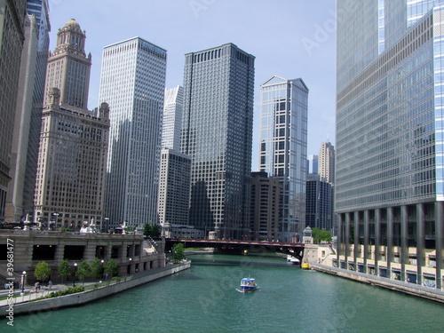 Foto op Plexiglas Chicago Chicago. Downtown