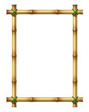 Bamboo Blank Frame