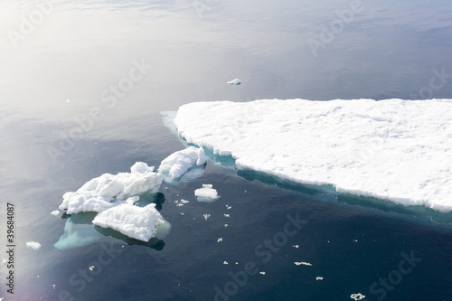 Sea Ice at Snow Hill Island, Antarctica