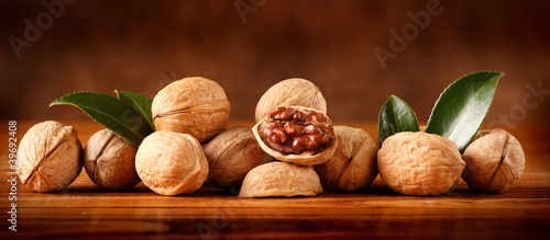 Cadres-photo bureau Marron Noci ( Frutta secca )