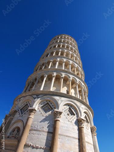 Poster Artistiek mon. Pisa Tower, Italy