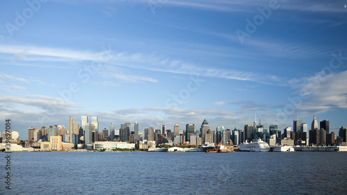 Keuken foto achterwand Verenigde Staten The New York City Uptown skyline