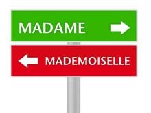 Madame - Mademoiselle