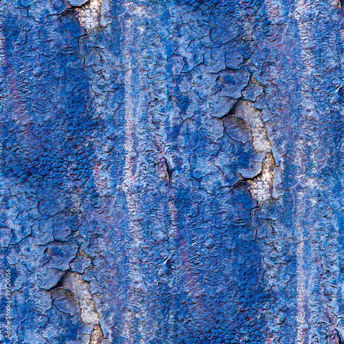 seamless texture of rusty blue colored rough