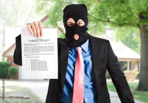 Photo Modern thief