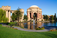 Palace Of Fine Arts In San Fra...