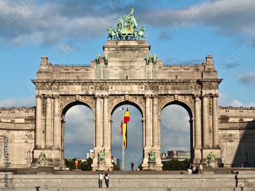 Cuadros en Lienzo Triumphal Arch, Parc du Cinquantenaire, Brussels, Belgium