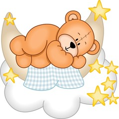 Plakat Sweet Dreams Teddy Bear